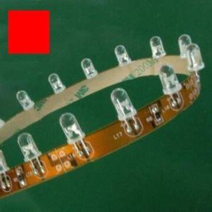 Imagen de Tira de Led 508 Semi-Rigida 5Mts Rojo 12Vdc