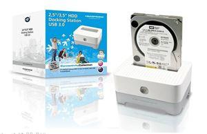 Imagen de Base disco duro Sata 2.5/3.5' USB 3.0 Conceptronic