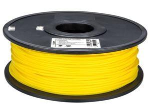 Imagen de Hilo de plastico PLA 3mm para impresora 3D amarillo 1KG