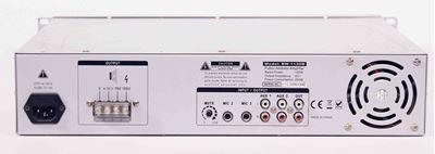 Imagen de Amplificador megafonia 120W