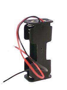 Imagen de Portapila 2 x AA con cable conexion