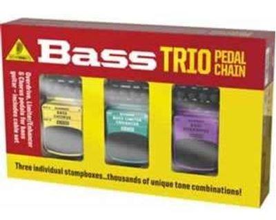 Imagen de Paquete de 3 pedales de efectos Bass Trio TPK988