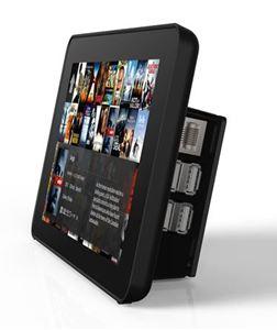 Imagen de Caja plastica negra para Raspberry y LCD Tactil 7'