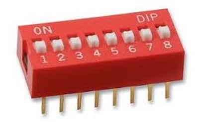 Imagen para la categoría Interruptores DIP