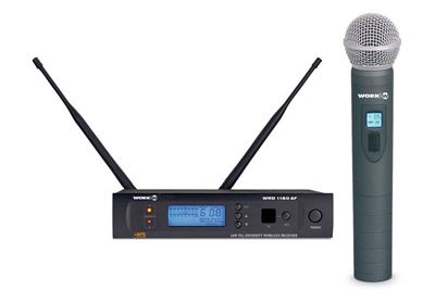 Imagen de Sistema de microfonia inalambrica de mano WRD1160/1 AF