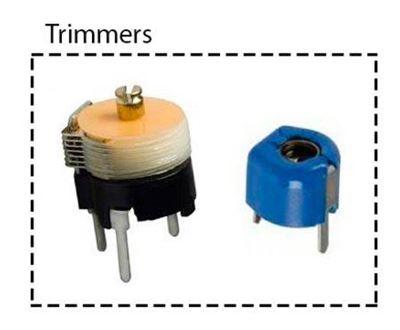 Imagen para la categoría Condensadores variables