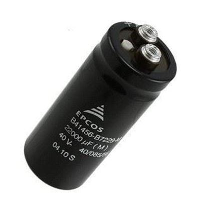 Imagen para la categoría Condensadores electrolit.profes.