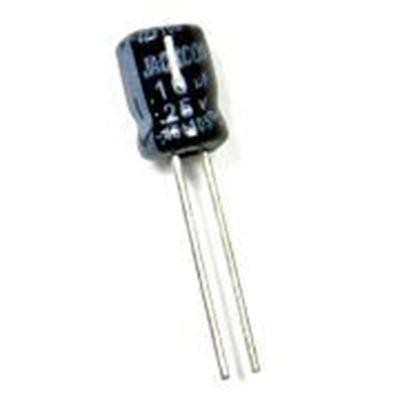 Imagen para la categoría Condensadores electrol.105º mini