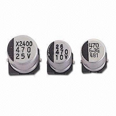 Imagen para la categoría Condensador electrolitico SMD