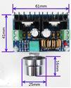 Imagen de Modulo alimentacion bajada DC-DC E:4-40V S:1,25-36V 8A
