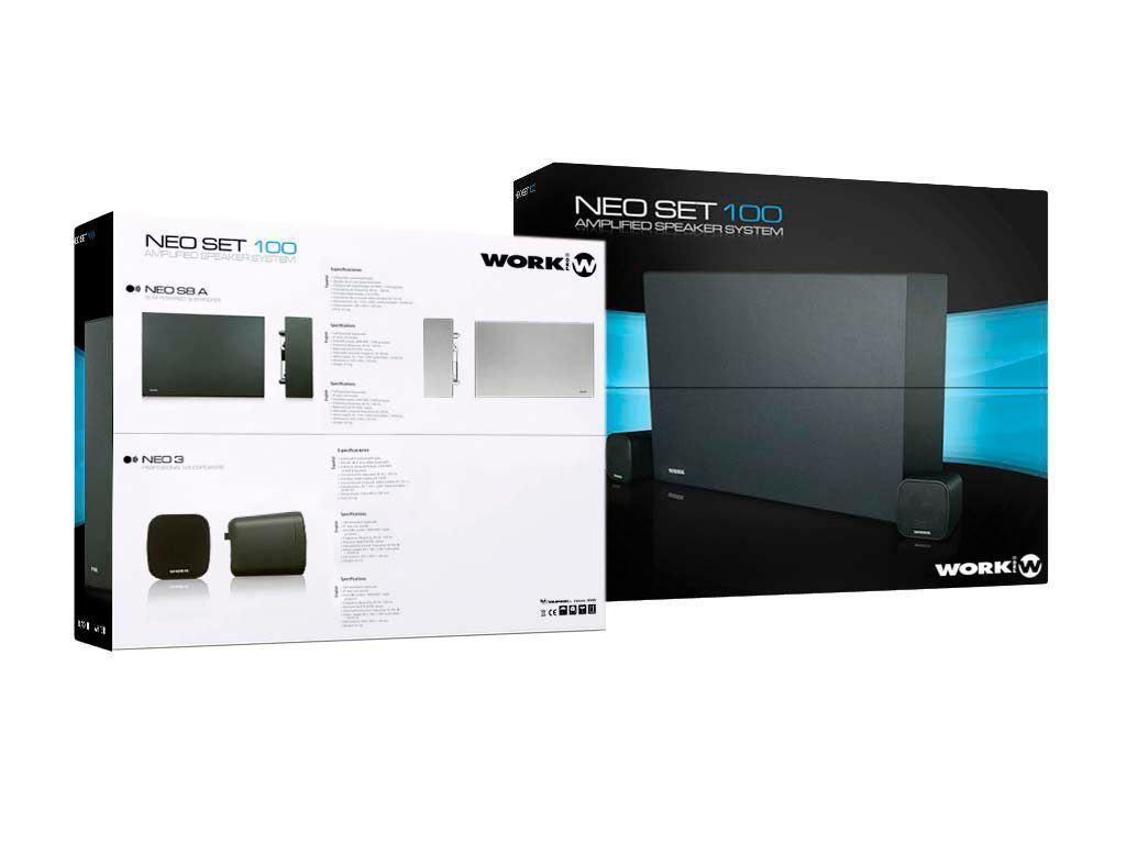 TV Nalber - Tienda on-line. Sistema de audio amplificado blanco NEO ... df9d2e7e636b