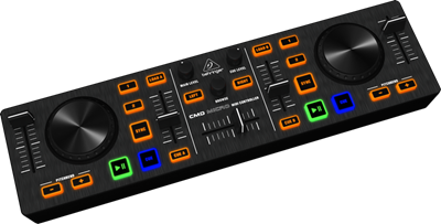 Imagen de Compacto 2 Deck Midi control MICRO-COM
