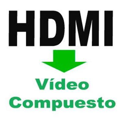 Imagen para la categoría HDMI a Video Compuesto
