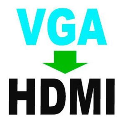 Imagen para la categoría VGA a HDMI