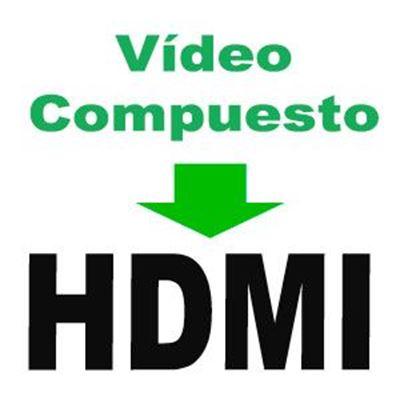 Imagen para la categoría Video Compuesto a HDMI