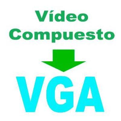 Imagen para la categoría Video Compuesto a VGA