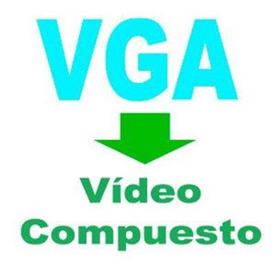 Imagen para la categoría VGA a Video Compuesto