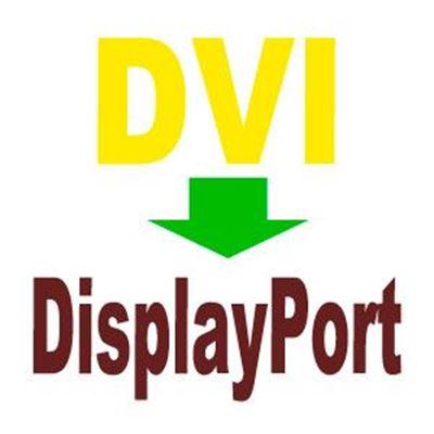 Imagen para la categoría DVI a DisplayPort