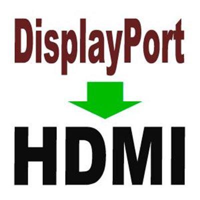 Imagen para la categoría DisplayPort a HDMI