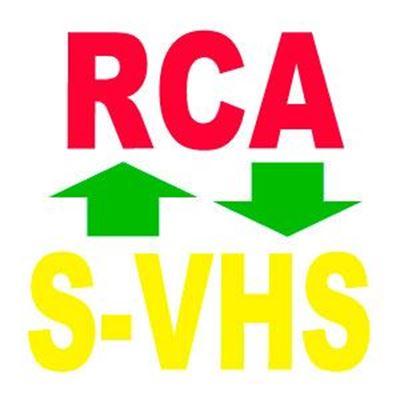 Imagen para la categoría RCA - S-VHS