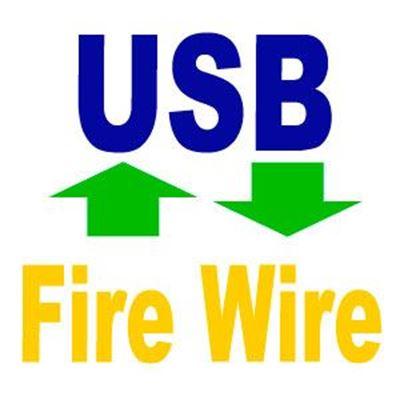Imagen para la categoría USB - Fire Wire
