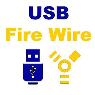 Imagen para la categoría Conectores USB-Fire Wire