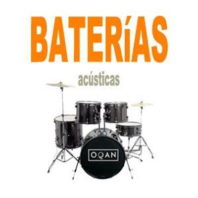 Imagen para la categoría Baterias Acústicas