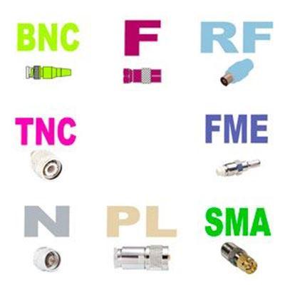 Imagen para la categoría Conectores coaxial