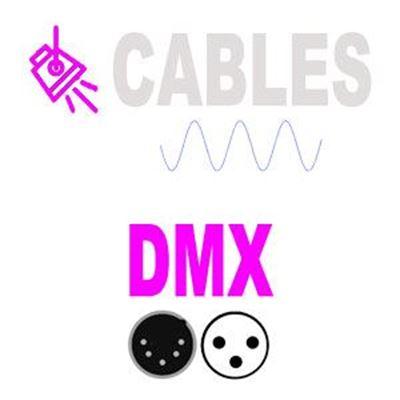 Imagen para la categoría Cables señal Iluminación DMX montados