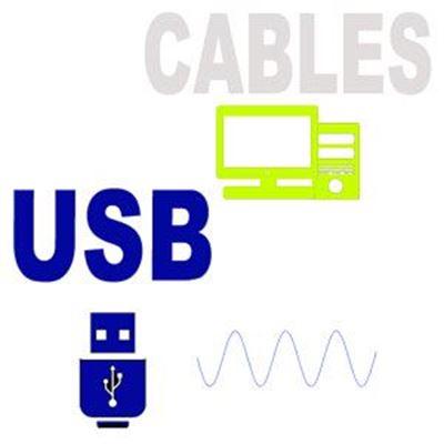 Imagen para la categoría CABLES USB