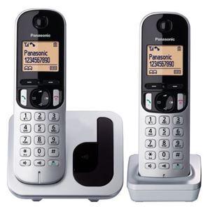 Imagen de Telefono Dect Panasonic TGC212 DUO Color Gris