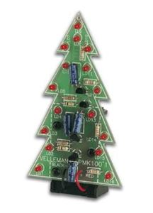 Imagen de Kit de montaje arbol de navidad con leds MK100