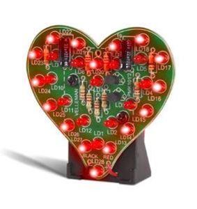 Imagen de Kit de montaje corazon con leds MK101