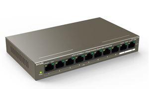 Imagen de Switch 8P Gbit CCTV Tenda TEF1110 (8 POE+2)