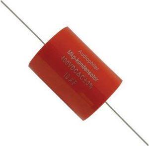 Imagen de Condensador MKP filtro altavoz 6,8uF 400V axial