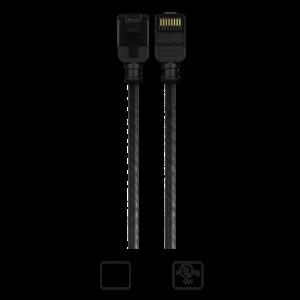 Imagen de Cable CAT6 para patch AWG28 0,25m color negro K23045-0025-BK