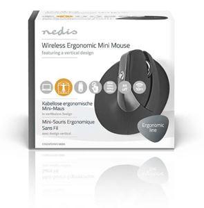 Imagen de Raton ergonomico inalambrico 1600ppp 6B Nedis