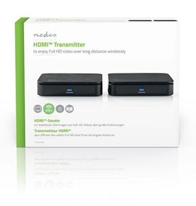 Imagen de Transmisor HDMI Inalambrico 2,4 GHz 40mts Nedis