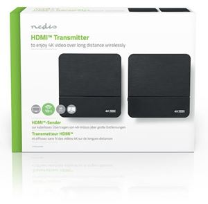 Imagen de Transmisor HDMI 4K Inalambrico 60GHz 10mts Nedis