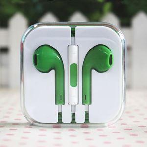 Imagen de Auricular Manos Libres Iphone 5 verde