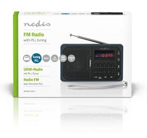 Imagen de Radio FM USB mSD Nedis PR2100