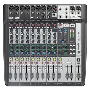 Imagen de Mesa de mezclas 12 canales efectos y USB SIGNATURE 12 MTK