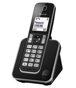 Imagen de Telefono Dect Panasonic TGD310 Negro