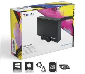 Imagen de Caja Externa 3.5' USB3 TooQ SATA 3527B