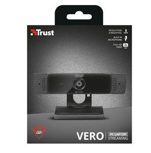 Imagen de Webcam Trust Vero 1080 con micro