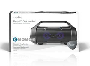 Imagen de Altavoz portatil Bluetooth 6h 60W Leds Nedis