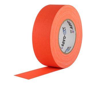 Imagen de Cinta de tela mate fluorescente naranja FLUORCIN-25.25-NA
