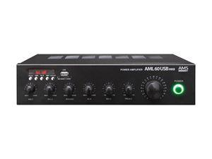 Imagen de Amplificador para megafonia AML 60 USB MKII