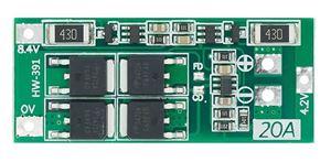 Imagen de Circuito de carga y proteccion de baterias Li-ion 20A 2S 8,4V