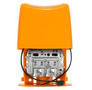 Imagen de Amplificador Mástil NanoKom 3e/1s 'EasyF': UHF[dc]-VHFmix-FImix[dc] G 28 Televes
